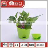 Customized garden decorating plant pot plastic flower pots wholesale
