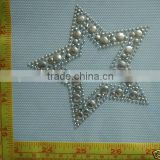 Star Shape Hot Fix Iron on Appliques, <b>Rhinestud</b> <b>Heat</b> <b>Transfer</b>, Hot Fix <b>Heat</b> Press star