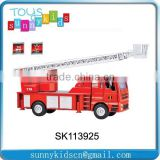 Die cast car china alloy car Fire engines