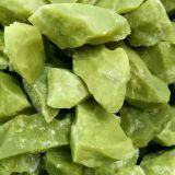 Green Stone Natural Pebble Stone Flooring Wash Stone 8 - 12mm