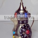 Decorative Dalla arabic coffee pot, arabic coffee pot, dalla arabic, dalla dubai, brass coffee pot, metal arabian coffee pot