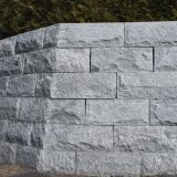 Grey Granite Mushroomed Cladding,Granite Mushroom Stone,Gray Mushroom Wall Cladding