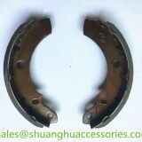Brake shoes for BAJAJ CNG Tricycle,Q195 steel,ISO9001:2008