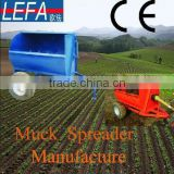 2014 China Agricultural organic manure separator fertilizer drop spreader