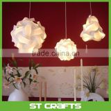 New Design Hanging Decor Colorful Ceiling Pendant IQ Light , Shade 30 Piece Kit Jigsaw Puzzle Lamp