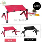 Adjustable Foldable Laptop Stand Ergonomic Design Desk For Notebook