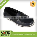 Kid Comfortable Design Smooth Tailored Leather Flat Boat Shoes