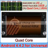 Ownice C200 Universal Quad Core Android 4.4 Cortex A9 car dvd for nissa juke patrol 2G Ram+16GB Flash
