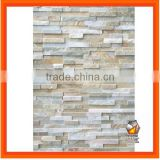 Hot Sales Natural Slate Wall Cladding Stone Cream Oyster 014