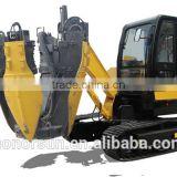 pick up truck mounted hydraulic tree transplanter/tree spade