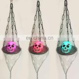 Halloween Hanging Skull with LED Plate for Halloween Decoration