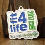 Fit 4 Life 5K Customized Medals