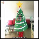 Merry Christmas Costumes Christmas Tree Outfit For Adult Wearing On Sale