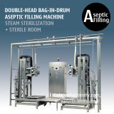 200L BIB Aseptic Filling Machine Double-Head Bag In Drum Aseptic Filler