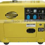 Manufacture KDE8600T3 8-8.5KVA Three-phase Silent Type Diesel Power Generating Set with Electric Starter