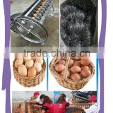 commercial brush type chick egg cleaning machine / duck egg washing machine / goose egg washing machine