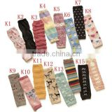wholesale mixed design terry thick baby leg warmers