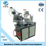 automatic small battery labeling machine for small round bottle/automatic small round bottle labeling machine