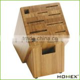 Luxury Knife Block, Bamboo Wood Homex-BSCI