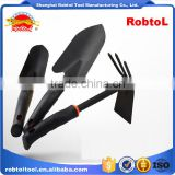 Garden tool set 3 piece kit hand folding bag stool digger weeder rake trowel shovel pruner spade hoe