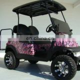 Four seat electric golf car back to back seat fashion style hot sales