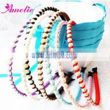 Assorted Colors Pearl Headband