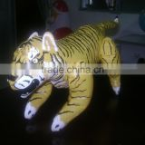 PVC inflatable toy animal inflatable toys cartoon toys inflatable tiger