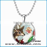 Santa pendant Jewelry Christmas Necklace Christmas Gifts New Year Pendant Christmas Jewelry