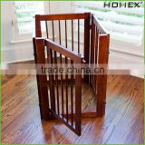 Wood Innovative Pet Gate Dog Fence Homex_BSCI Factory