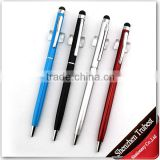 slim ball pen with stylus , slim touch stylus ball pen