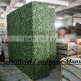 SAS016013 Artificial Boxwood wall,Iron Plastic Boxwood Fence