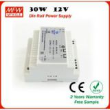 30w 12v din rail power supply with CE ROHS certificates