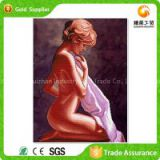 Full Stock Attractive Design 3d Diamond Painting By Numbers Female Nude Oil Painting