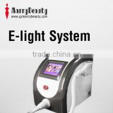 Pigmented Spot Removal 2014 Professinal E-light IPL Portable RF Hair Removal Beauty Equipment Pigment Removal
