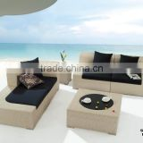 Plastic Rattan Woven Patio Sofa Outdoor Furniture Direct Wholesale
