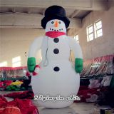 5m Height Large Inflatable Snowman for Christmas Decoration