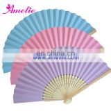 AF1408 Pretty Ice Cream Color Hand Fans Paper