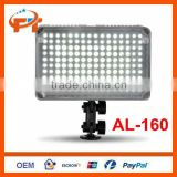 Pro aputure video LED light Lamp AL-160 f Canon Nikon camcorder camera SLR 5600K