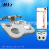 SLL portable muscle bone body fat & water scale