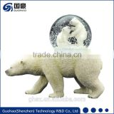 For Animal collection polar bear snowglobes