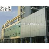 top quality film coated aluminum wall panel