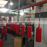 Complete plant automatic line fire extinguisher making machine