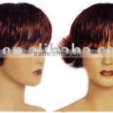 short curl synthetic wigs