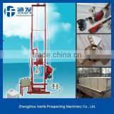 Hot sale in Africa HF150E economical portable water well drilling rig max diameter 150mm max depth 100m
