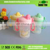 plastic drinking water bottle with handle for kids