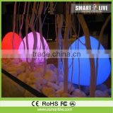 PE Material and Commercial Furniture General Use led outdoor floating LED ball light