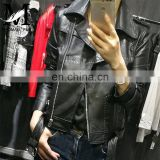 Italian Soft Jacket Genuine Lambskin Leather Slim Leather Jacket Woman Color