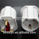 Sch<b>uk</b>o <b>Adaptor</b> <b>plug</b> Germany to <b>UK</b> English power adapter with 13A fuse