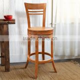 Bar Stool Swivel Neima Teak Wood