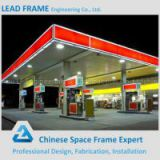 Light Steel Structure Space Frame gas station canopy